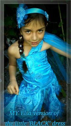My version of Elsa's 'Little Black Dress'