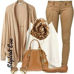 #outfit #outfits #bag #bags #leopard #scarf #white #mickelkors #mk #shoes #cardigan #cardigans #top #stylisheve #style #stylish #girl #girly #cool #awesome