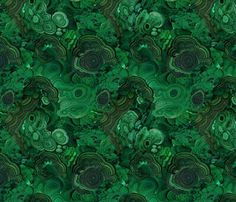 Malachite fabric - how absolutely gorgeous. I want my entire house draped in this.