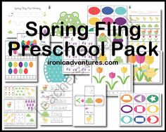Spring Fling Pack product from Ironic-Adventures on TeachersNotebook.com