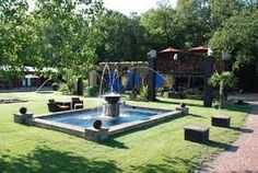 FRONT YARD LANDSCAPING FOUNTAIN - Google Search