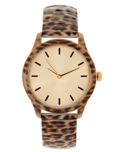 6f6c3177587  36.93 ASOS Leopard Printed Metal Watch. Hey  Karissa ASOS has some nice  affordable watches