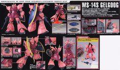 MS-14S Char`s Gelgoog Ver. 2.0 (MG) (Gundam Model Kits) Item picture1