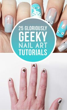 Nerdy nails for life.