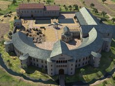 Imperial Palace Ingelheim VIII XI Charlemagne / Louis Pius