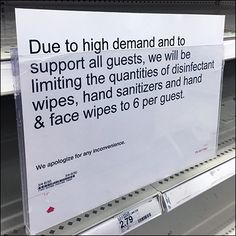 This limit to sales could not prevent a CoronaVirus Disinfectant Sanitizer Out-of-Stock situation. A run of several gondolas in length stood naked with. Garnier Micellar Water, Retail Fixtures, Hand Sanitizer, Cart, Finding Yourself, Covered Wagon, Strollers