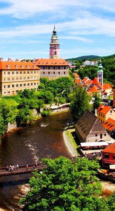 Old Town of Cesky Krumlov, Czech Republic