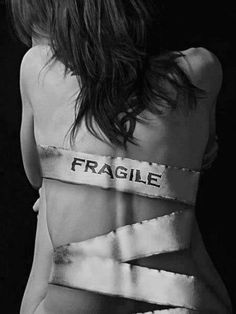 fragile people are actually strong people in a cocoon.  once they emerge from their period of metamorphosis brought on by pain, they will be stunningly beautiful