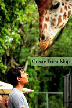Animals are our best friends. Create new friendships and capture them in Sparkbox App.Sign up today for early access and get a Free Premium account. #Sparkbox #family #familylife #motherlove #mother #mom #familyfirst #animals #friendships #friendship #app #Sparkbox Zoo Pictures, Giraffe Pictures, Senior Pictures, Couple Pictures, Wildlife Photography, Animal Photography, Photography Tips, Creative Photography, Friendship Photos