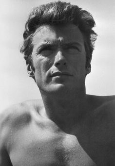 Clint Eastwood photographed by Michael Levin in Sherman Oaks, California, 1961.