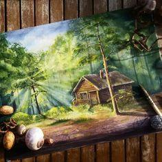 Forest landscape illustration artists 58 New ideas Watercolor Landscape, Landscape Art, Landscape Paintings, Watercolor Paintings, Fantasy Landscape, Forest Landscape, Landscapes, Illustration Artists, Watercolor Illustration