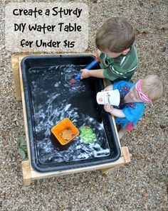 We have a water table but maybe having an extra will help with the fighting sisters
