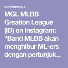 """MGL MLBB Greation League (ID) on Instagram: """"Band MLBB akan menghibur ML-ers dengan pertunjukkan mereka! 😎🎸🎹🎤🎶 . Formasi Band MLBB manakah yang paling ML-ers sukai? 😆 . Karya luar…"""" Gaming Wallpapers"""