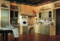 Marchi Group - Valenzuela Cucina classica in legno laccato - Cucina ...