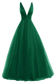 You will sure make your date blush as you walk in the room with this simple yet regal plunge v long A-line chiffon evening gown.A gorgeous long dress features a remarkable plunge bodice which accentua..