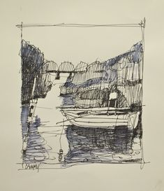 Dennis Campay: drawings
