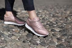 Sneakers femme - Reebok classic leather pack (©caliroots)