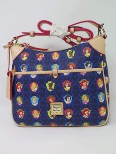 A Closer Look at the Princess Half Marathon Dooney & Bourke Bags