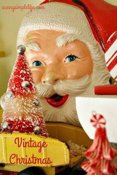 Image result for vintage christmas kitsch display