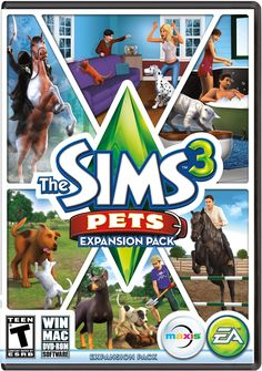 The Sims 3: Pets (Expansion Pack) (PC & Mac) Free Download