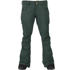Indy Snowboard Pant Size M, Pine needle