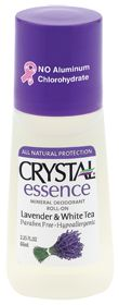 Crystal Crystal Essence Mineral Deodorant Lavender & White Tea.. my other favorite chemical fee deodorant:)