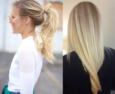 cheveux blonds longs