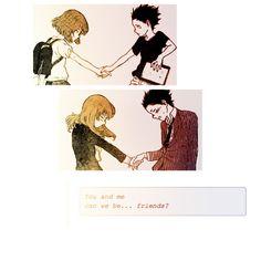 "Koe no katachi, ""let's be friend"""
