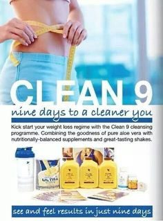 Clean 9 This effective, easy-to-follow cleansing program will give you the tools you need to start transforming your body today. The Clean 9 Program can help you jumpstart your journey to a slimmer, healthier you. This effective, easy-to-follow cleansing program will give you the tools you need to start transforming your body today.