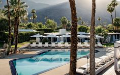 It List 2016: L'Horizon in Palm Springs, CA is a classic: built on a 1952 estate once frequented by Ronald Reagan and Marilyn Monroe, this hotel boasts 25 rooms with a vintage midcentury modern style.