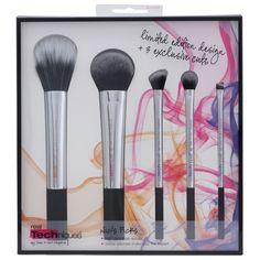 Real Techniques Make-Up Brushes Nic s Picks Limited Edition Design Set