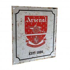 Arsenal F.C. Retro Logo Sign by DeltaEtaSports on Etsy