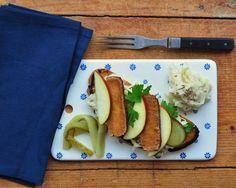 Green Reuben sandwich a la Isabel