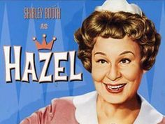 Hazel! One of my many fave shows from when I was a kid. I love this show and am enjoying watching reruns on Antenna TV.