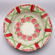 ultimus Teller, Plates, Tableware, Design, Red, Green, Tablewares, Licence Plates, Dishes