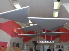 Acoustic Ceiling Panels | Orion Centre, East Sussex