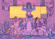 Enemies of Reality by f1x-2.deviantart.com on @DeviantArt