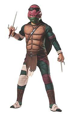 Rubies Teenage Mutant Ninja Turtles Deluxe Muscle-Chest Raphael Costume, Child Large Rubie's Costume Co http://www.amazon.com/dp/B00HQAKCL4/ref=cm_sw_r_pi_dp_.GDdub15ZNCRC