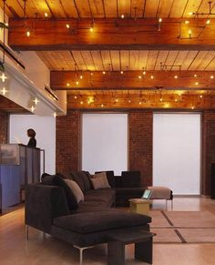 plumbing pipe lights  http://hative.com/cool-basement-ceiling-ideas/