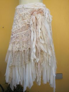 vintage inspired wrap skirt/shawl, $105.00, via Etsy / Gypsy Boho