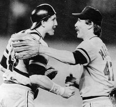 Jack Morris and Lance Parrish, 1984 World Series