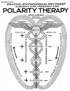"""Polarity Therapy Charts 1-6, 11-13 """"Polarity... at METANOIA-WORLD"""