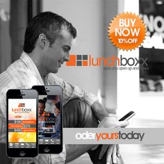 10% off your mobile business card. www.thelunchboxx.com
