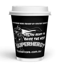 Foster Care Printed Paper Cups Coffee Cup Design