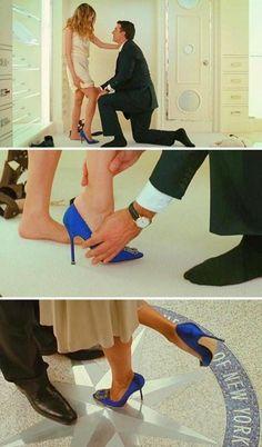 New Wedding Shoes Blue Pumps Manolo Blahnik Ideas Estilo Carrie Bradshaw, Carrie Bradshaw Shoes, Carrie And Big, Manolo Blahnik Hangisi, Manolo Blahnik Shoes Wedding, Blue Wedding Shoes, Blue Pumps, Fashion Heels, Woman Shoes
