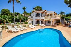 Coupon code: snfj3k97p7qggzj. Booking valid from 12-04-2021 to 26-06-2021. Expires on 05-29-2021. #costablanca #holidayspain #villa #benissa #calpe #moraira #turisol Moraira, Villa With Private Pool, Spain Holidays, Next Holiday, Vacation Villas, Swimming Pools, Sea, Mansions, Park