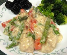 Debbi Does Dinner... Healthy & Low Calorie: Slow Cooker Cheesy Garlic Chicken
