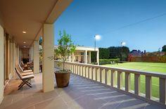 Tennis court | 59 Wattle Road Hawthorn Tennis, Deck, Outdoor Decor, Home Decor, Decoration Home, Room Decor, Front Porches, Home Interior Design, Decks