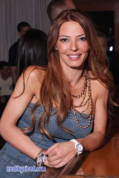 Drita D'Avanzo Meets and Greets Fans in The Bronx http . Carla Facciolo, Drita Davanzo, Golden Blonde Highlights, Mob Wives, Betty White, Victoria Justice, Short Bob Hairstyles, Celebs, Celebrities