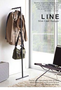 LINE/ライン スリムコートハンガー ...ハンガーラック. :0103310:st-toremu - 通販 - Yahoo!ショッピング